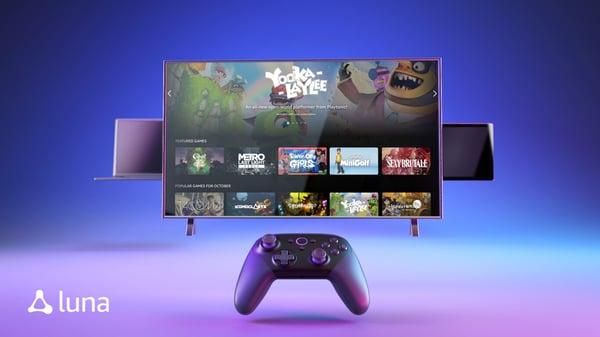 Amazon Luna promete ser uno de los grandes aspirantes al trono del mercado de plataformas de videojuegos en streaming.
