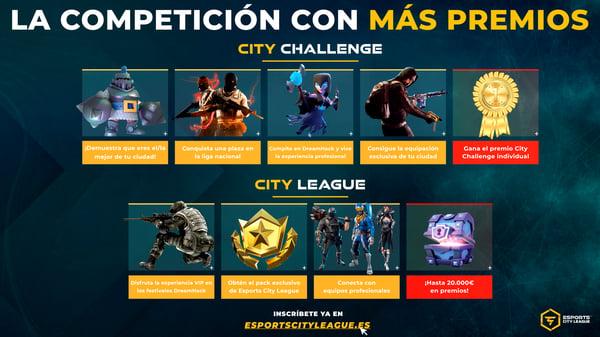 Premios de Esports City League